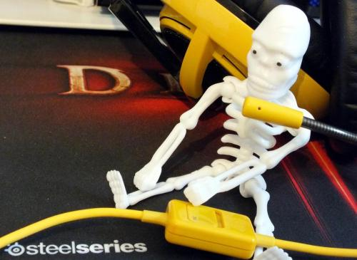 Just a skeleton, using a Siberia v2 Natus Vincere Edition.