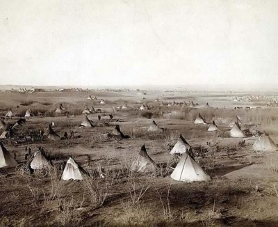 A sioux village