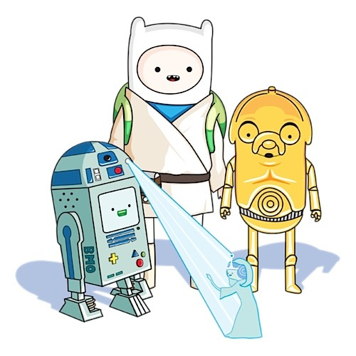 Adventure Time + Star Wars