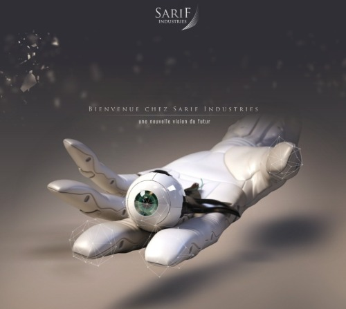goddessoftruthhospital:  Sarif industries : envisioning a new future Sarif industries specializes in the design and manufacture of advanced mechanical augmentations for human implantation. The company distinguishes itself from its competitors by working with clients to create progressive, forward-thinking, custom augmentations that answer specific challenges and needs. The company strongly believe that the researches, development an implementations of augmentations is a measure of human advancement toward a better future and a stronger, faster, smarter, better you. Sarif maintains an in-house staff of doctors and nurses in addition to HET (Human Enhancement Technologies) scientists and researchers who are trained to work with clients to determine individual needs. Sarif don't work only to revolutionize the very nature of the human body, but to create better and more capable people that had to make the world a better place. Sarif believe in a free humanity, where people and companies work without regulations, where progress of civilization is determinated by unbreadled human endeavor. Visit Sarif official website : http://www.sarifindustries.com  …On one hand this looks incredible, but on the other hand it looks like the mother fucking Cylon War is about to come.