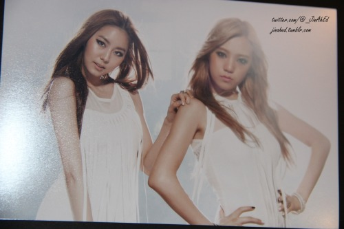 jinahed:  After School - Uie & Lizzy Flashback Photo Card