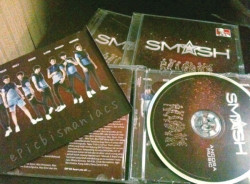 naaah he is the first album SMASH;;D#1stannivSMASH1stAlbum #pahathatismashnewsingle  cr: epicbismaniac