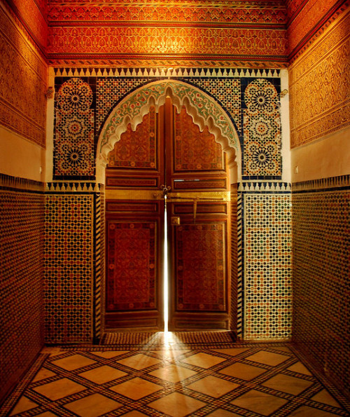 evysinspirations:  Marrakech by amorey on Flickr.