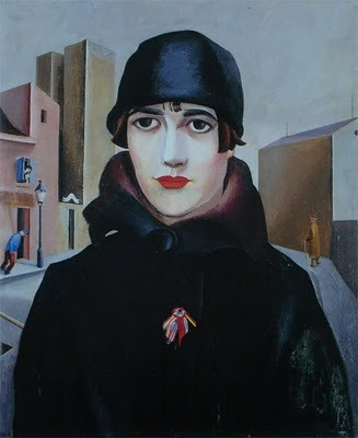 The new western woman of the 1920s 1919 Niklaus Stoeklin (Swiss artst 1896-1982) Nelly Source: bjws.blogspot.co.uk