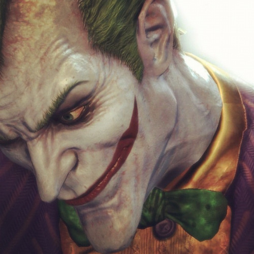 dirty-purple-suit:  The Joker | Batman: Arkham Asylum