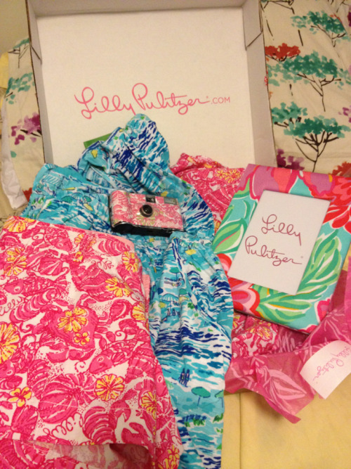 chickidychynna:  I got my Lilly Pulitzer dresses and shorts in the mail today! I think this has been the happiest moment of my summer so far.