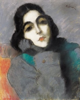 The new western woman of the 1920s 1921 Jozsef Rippl-Ronai (Hungarian artist 1861-1927) Zdenka Ticharich Source: bjws.blogspot.co.uk