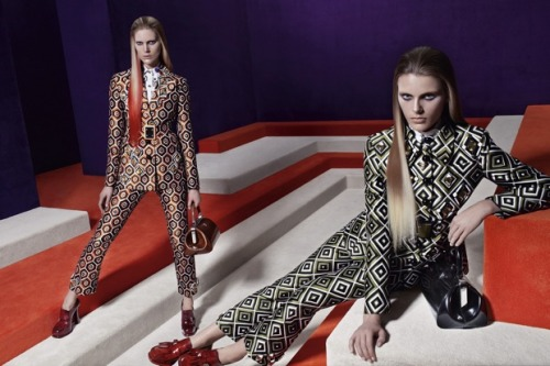 businessoffashion:  Prada Autumn/Winter 2012 campaign shot by Steven Meisel