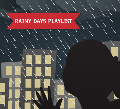My Rainy Days Playlist Here in the Philippines, June is the end of summer and start of the rainy season. Raindrops and thunderclaps are musical to my ears. Rainy days are the perfect time to emote and make me think about life. Here are my personal favorite songs for the rainy season. 1. The Cascades - Rhythm of the Rain2. The Carpenters - Rainy Days And Mondays3. Herb Alpert - Making Love in the Rain4. Tamia - Officially Missing You5. Corinne Bailey Rae - Another Rainy Day6. Brenda Lee - Bring On The Sunshine7. Neil Sedaka - Laughter In The Rain8. B.J. Thomas - Raindrops Keep Fallin' On My Head9. The Beatles - Rain10. The Everly Brothers - Rhythm of The Rain11. Madonna - Rain12. Phil Collins - I Wish It Would Rain Down13. Bruno Mars - It Will Rain14. Adele - Right as Rain / Make You Feel My Love15. Coldplay - Rainy Day16. Simon And Garfunkel - Bridge Over Troubled Water17. Mariah Carey - Through The Rain 18. Andreas Moe - Collecting Sunlight