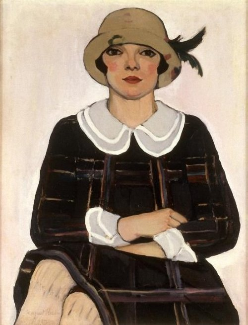 The new western woman of the 1920s 1925 Margaret Preston (Australian artist 1875-1963) Flapper Source: bjws.blogspot.co.uk