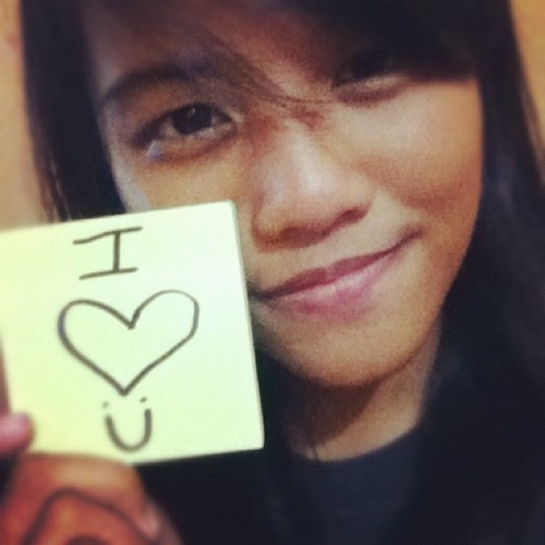 I Love You! :) Good evening!  (Taken with Instagram)