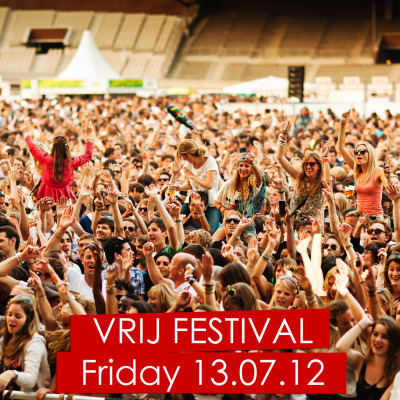 We are now giving away 4x 2 tickets to Vrij Festival! This event will take place on the 13th of July in Amsterdam. Join the giveaway if you want to win!