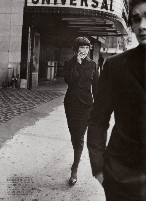 Zoe Gaze by Peter Lindbergh