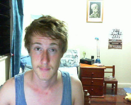 Moustache Update #2 It's starting to be able to tickle my lips, and it's a weird sensation I'm not used to.