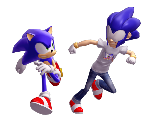 FACT: SonicMan is one of the only things redeemable about Sonic 2006. Why hasn't he turned up in other games? Get on it, Sega.