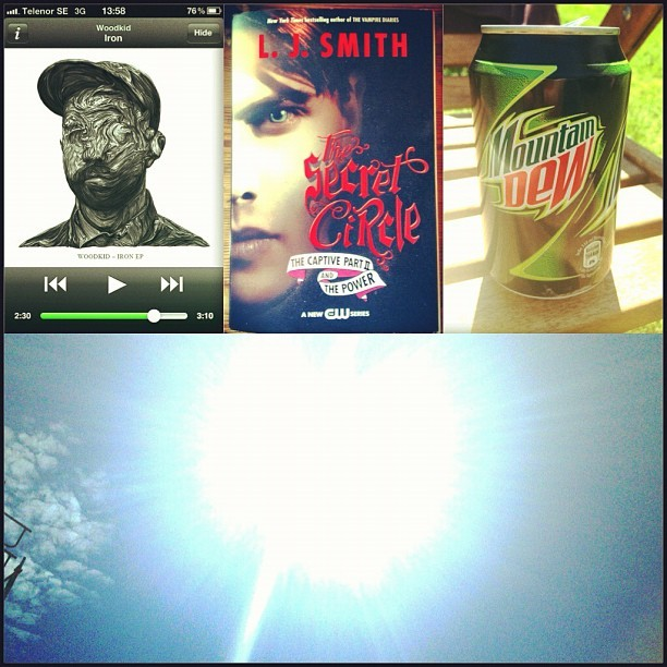 Music + secretcircle + mnt dew + ☀ = 🐨☀❤😁😊👊👍✨🎉🎈🐬 (Taken with Instagram)
