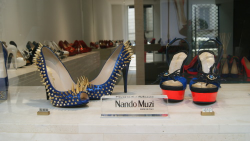 Shoes in Milan