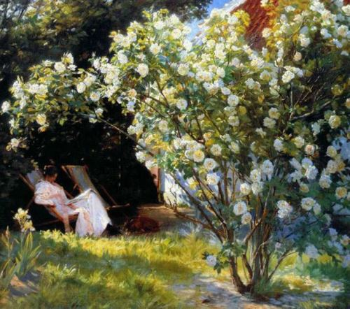 Peter Severin Kroyer Les roses