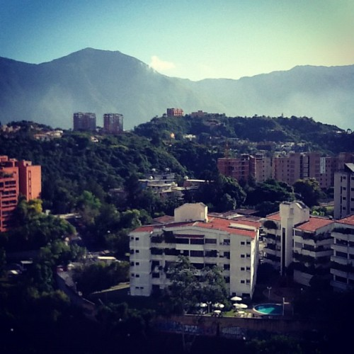 From my window i can see… #ccs #caracas  (Taken with Instagram)