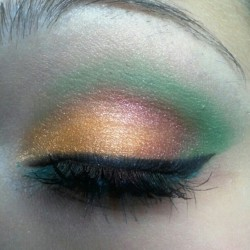 3 colors makeup (Scattata con Instagram)