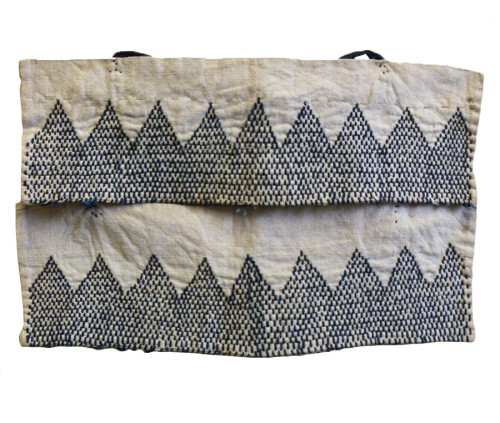 badminton:  batixa: (via Sri | A Pair of Sashiko Stitched Akutogake: Rustic Heel Guards)