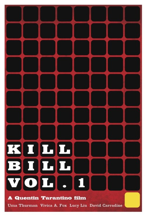 minimalmovieposters:  Kill Bill Vol. 1 by Matthew Perdue