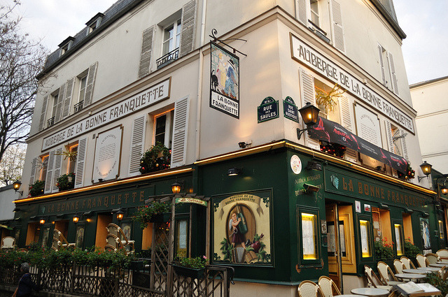 | ♕ |  Auberge in Montmartre, Paris  | by © Laura Gilchrist