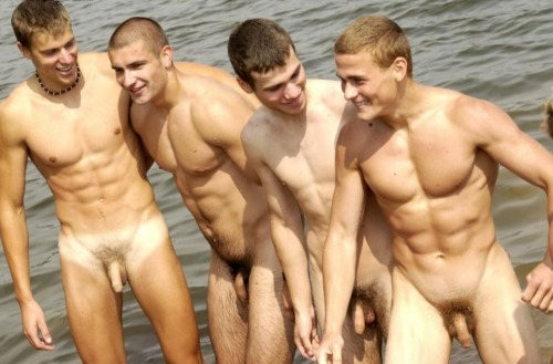 bestofbromance:  naked bros at the beach… working on your bromance is as important this summer as your tan… topher ;)