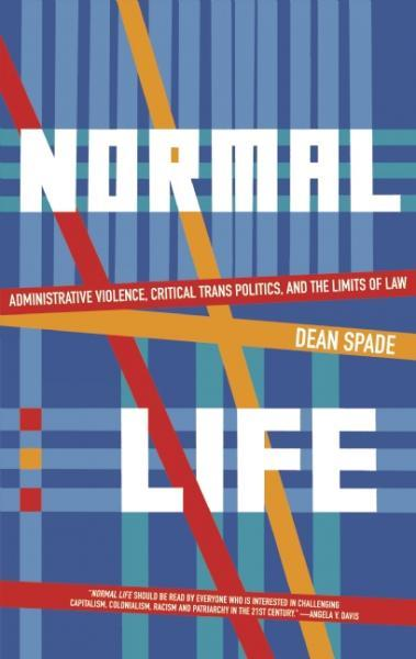 Normal Life: Administrative Violence, Critical Trans Politics and the Limits of Law raises revelatory critiques of the current strategies pivoting solely on a legal rights framework, but also points to examples of an organized grassroots trans movement that is demanding the most essential of legal reforms in addition to making more comprehensive interventions into dangerous systems of repression—and the administrative violence that ultimately determines our life chances. Setting forth a politic that goes beyond the quest for mere legal inclusion, Normal Life is an urgent call for justice and trans liberation, and the radical transformations it will require.  right now, if there was any one book i could convince everyone to read would be normal life. i've been reading/thinking a lot about the justice system, and reading a lot about what is going on in the united states. another really accessible look at some of the incredibly punitive aspects of the legal system in the united states is this episode of NPR's this american life.
