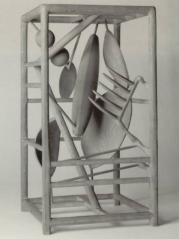 Alberto Giacometti - The Cage, 1930-31. Wood