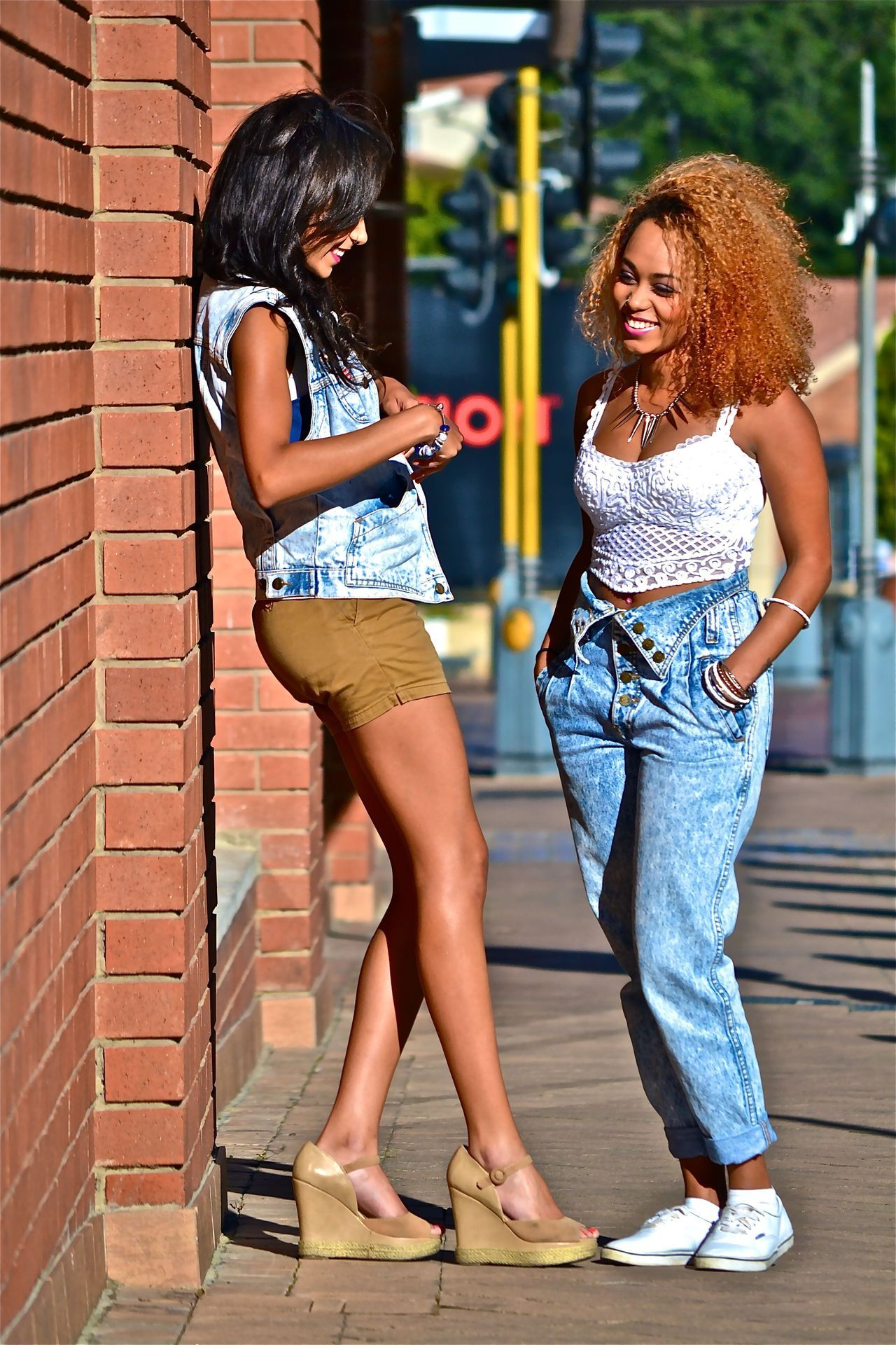 SOUTH AFRICAN STREET STYLE | SISTER ACT Here are some photographs I took months ago, when it was still warm. You might recognize both these individuals. On the left Nicole and on the right, her sister, Kay. They both have incredible taste in clothes and have awesome personalties to boot. Enjoy the photos, there's more looks from this sister act coming soon… Photographed by: The Expressionist