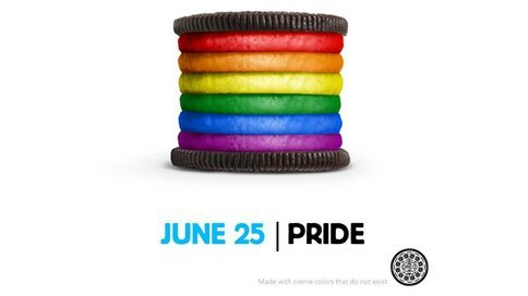 Client: Oreo Agency: 360i (digital) So, Oreo seems to have taken a somewhat political stand. Yesterday, Oreo posted this picture on it's Facebook page, which was met with quitethe mixed reviews. Naturally, the brand expected backlash, yet I can't help but admire its attempt to say something important and use social media as a way of expressing the brand personality and to engage with its fans. Sure, it's a small gesture in the grand scheme of things, but at the end of the day, Oreo is just a cookie brand. And as such, this is a pretty bold statement. So, to all the haters threatening to never eat another Oreo ever again…good luck. Because there's a petition to get the rainbow Oreo into production. Now, who's got some milk?