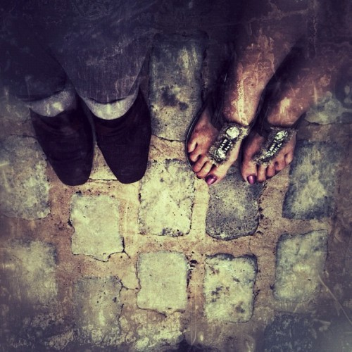 Fancy feet (Tomada con Instagram)