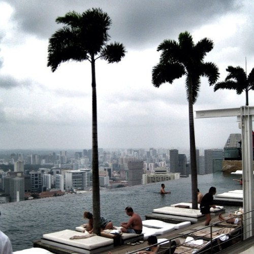 Relaxing by the world's most gorgeous infinity pool at Marina Bay Sands Hotel #Singapore #marinabaysands #swimming #pool #gf_Singapore #instagrammers #statigram #sgig #instagramhub #Instamood #iphoneasia #sgig #igers #webstagram #sginstagram #instagramsg #gang_family #gf_daily #ig #photooftheday #picoftheday #allshots #marinabaysands #infinitypool #swimming #pool #tropical (Taken with Instagram)