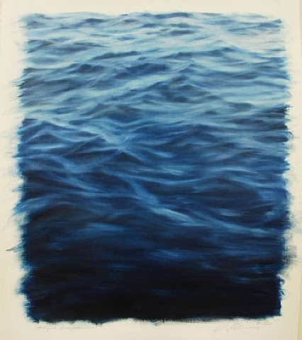 Clifford Smith, Study for Ocean Blue Light, 2012