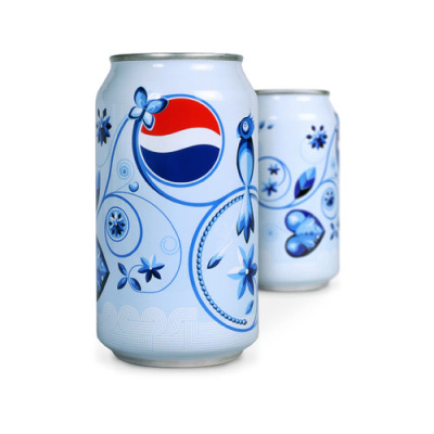 Pepsi Can Design by Jesse Kaczmarek