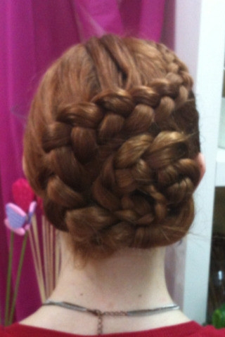 A plait I did