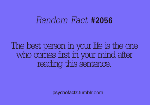 psychofactz:  More Facts on Psychofacts :)  Yup