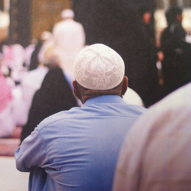 poeticislam:  Contemplating during Hajj