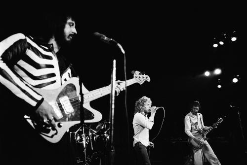 "Wednesday is the 10th anniversary of the passing of The Who's John Entwistle. And damn, if this particular quote from Roger Daltrey didn't make me misty-eyed on a Tuesday morning:  ""…John is right there on the stage with me. Keith too. I have said from the stage many times that the thunder they created in their lifetimes still echoes around the Universe. It always will."" —Roger Daltrey on the 10th anniversary of John Entwistle's death  You can find the above photo here. For Pete and Roger's full tributes, go here."