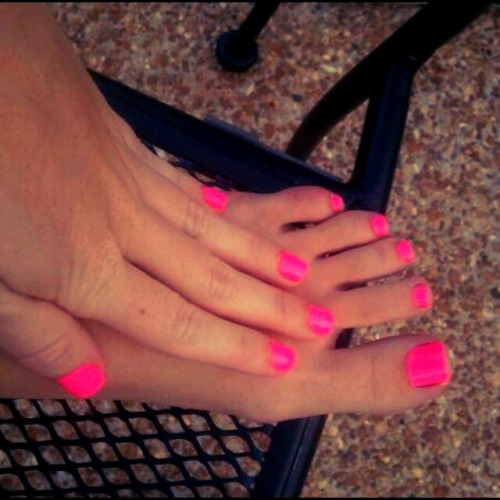 My summer time nails! :)