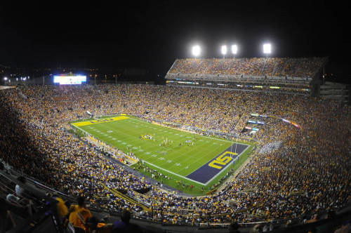 lsuverse:  This is how we like to spend our Saturday nights.  Hell yeah.