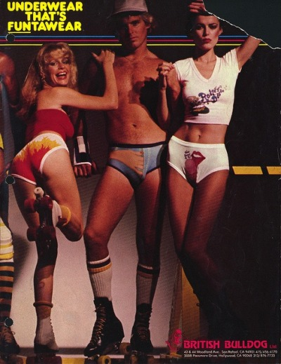 retrogasm:  British Bulldog Underwear  Give me one of every item of clothing in this shot.
