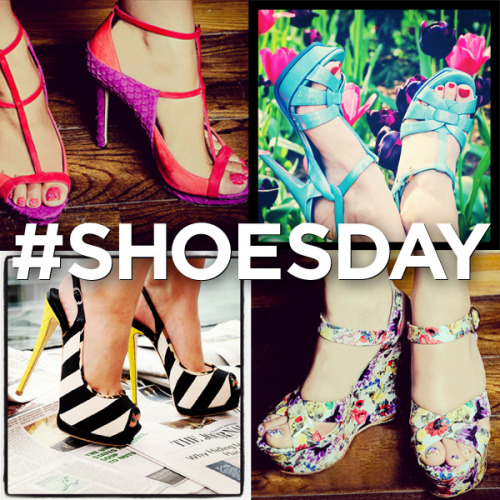 10022-shoe:  Happy #ShoesDay! Upload a pic of your favorite shoes with hashtags #ShoesDay #Saks for a chance to be reblogged by 10022-SHOE Tumblr!