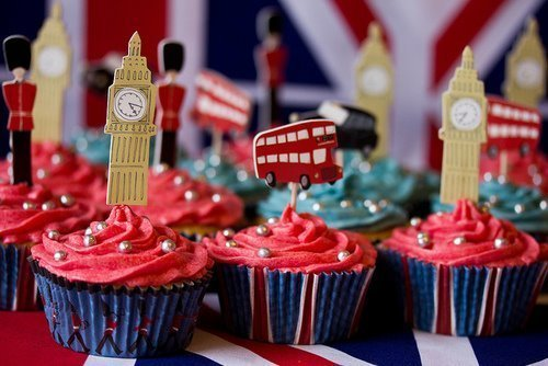 Perfect for an Olympics party or maybe even a Downton Abbey party!