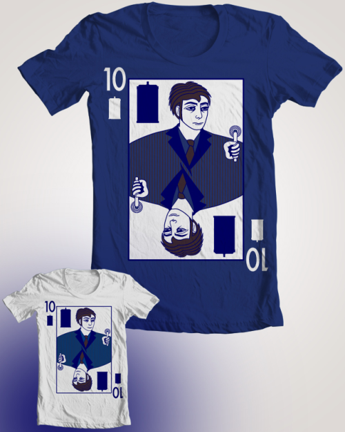 Ten of TARDIS is up for voting on Threadless!