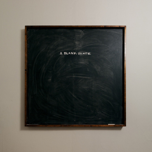 "troubled:  ""A Blank Slate"", by Michael Chrisman"
