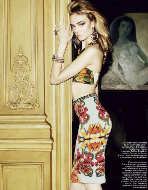 Nimue Smit by Matt Irwin for Vogue Russia July 2012