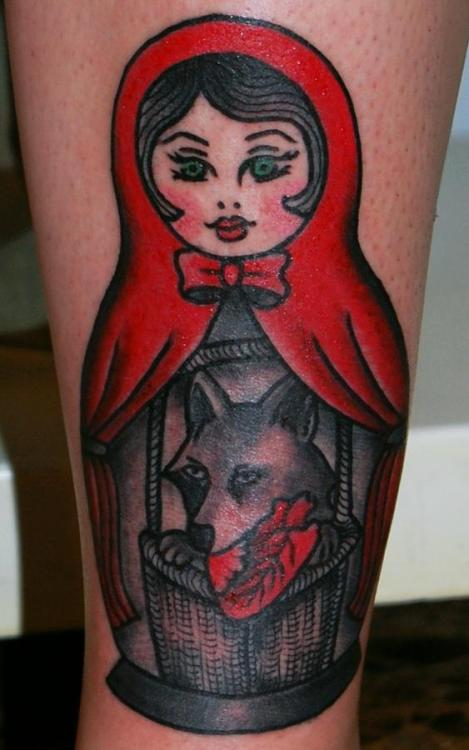 fuckyeahgirlswithtattoos:  This is my third tattoo, in my left leg, it's very importand to me beacuse I drew it, I decided how it would look like, and it represents exactly what I was trying to express about myself. Soledad Aznar, from Sta.Demonia tattoo made a fabulous job, respecting  all the details. I couldn't be happier about the result.
