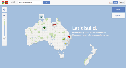 Google Chrome teams with Lego Australia for Build With Chrome